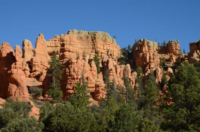 road to bryce canyon