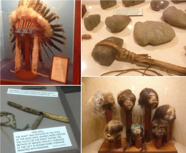 Artefacts from Woolaroc