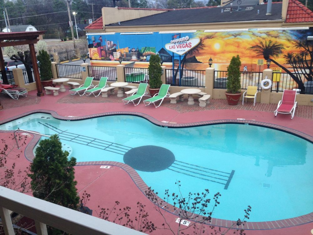 guitar pool awesome this modern swimming pool shape