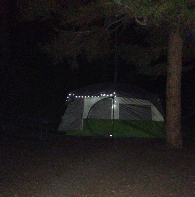 Camping at Yellowstone