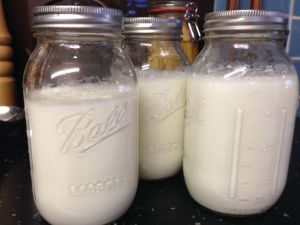 Yummy homemade yoghurt in one of America's best kept secrets... Ball jars